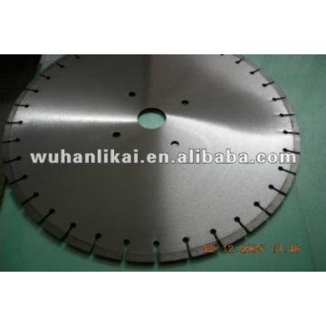afilado de hoja de sierra circular de diamante