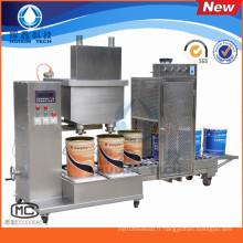 2016 nouvellement la machine de remplissage liquide automatique de deux têtes de remplissage pour la peinture, le revêtement et l'émulsion