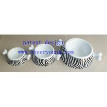 Porzellan-Haustier-Schüssel (CY-D1007) Inventar-Abstand