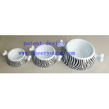 Porcelain Pet Bowl (CY-D1007) Inventory Clearance