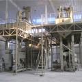 Maissamenverarbeitungslinie in Nigeria