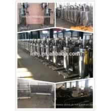 Gire rapidamente a máquina fria do processo do extrato do óleo de coco controlado de VFD