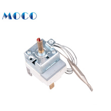 VDE, CQC, UL approved round thermostat for  electric oven
