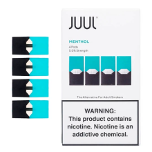 Pacote de 4 cápsulas JUUL Pod Virginia Tobacco
