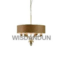 beautiful golden pendant lamp chandelier light