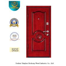 Puerta de acero de seguridad Simplestyle con talla (L2-1006)