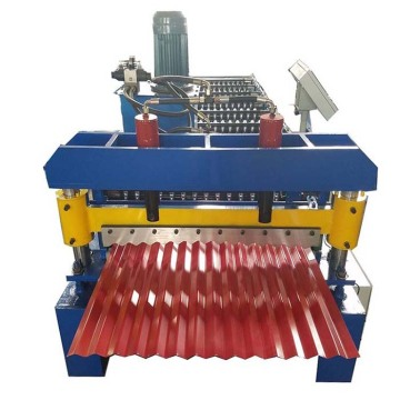 Máquina perfiladora de paneles de chapa ondulada