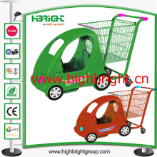 Supermarket Rentable Children Baby Shopping Stroller for Mall