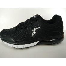 Heiße Verkaufs-schwarze Kpu-Mann-laufende Schuhe