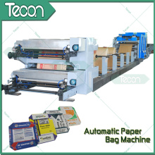 Fully Automatic Flexo Printing Valve Paper Bag Making Machine