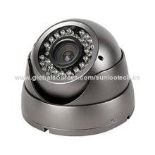 CCTV dome camera, 1/3'' Sony Effio-E, 700TVL, with OSD menu