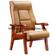 Heißer Verkaufs-Tan-Farben-Seitenstuhl-Konferenz-Stuhl (FOH-F11)