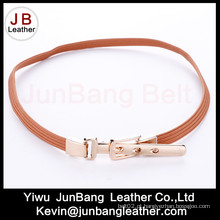 Moda Cintura de cintura elástica magro das senhoras