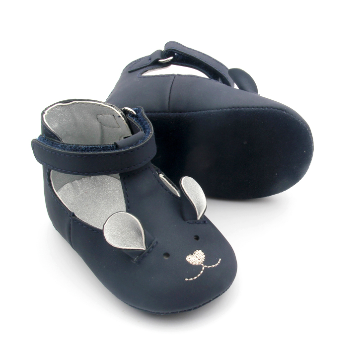 Cute Mouse Ankle Baby T Bar Shoes
