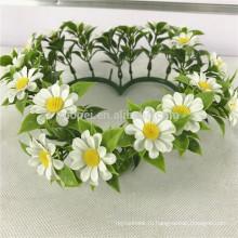 Дешевые висит венок искусственный цветок для окна декор