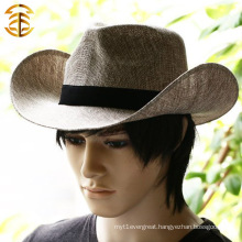 New Fashion Casual Spring And Summer Sunsreen Couples Flax Straw Hat