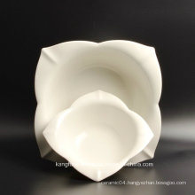 Hotel Supply High Quality White Ceramic Plate