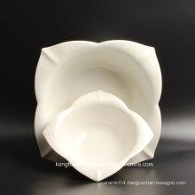 Hotel Supply High Quality White Ceramic Plate