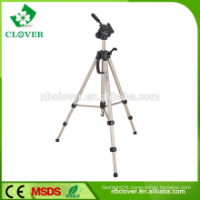 Heavy duty with fluid pan head for camera and film photography professional video tripod