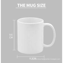 China supplier AA Grade11oz subliamtion mug white coating mug