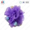Luxury best body mesh bath sponge luffa scrub