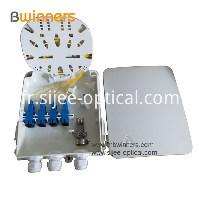 wall mount fiber optic terminal box