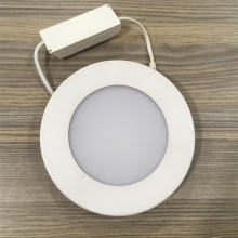Luz de panel redonda de color blanco 4w