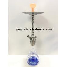 Narguilé de pipe de tabagisme de Shisha Nargile d'acier inoxydable de haute qualité