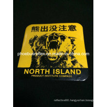 10*10cm Warning Reflective Sticker