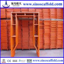Andamios de bastidor usados en la construcción