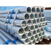 Tubo de aço soldado galvanizado de baixa pressão