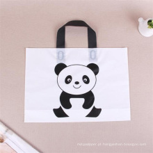 saco de plástico com alça para fazer compras