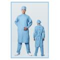 SMS non-tissé pour les robes chirurgicales imperméables fournitures d'hôpital