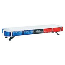 47 '' barra de luz de advertencia de emergencia de tráfico de techo estroboscópico impermeable de tamaño completo para automóviles
