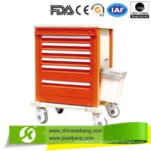 Chariot et chariot de médecine de luxe (CE / FDA / ISO)