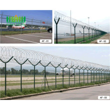 Hot Dip Galavnized High Quality security airport fence