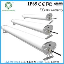 Luz do diodo emissor de luz da Tri Prova IP65 de 1.5m, dispositivo elétrico de iluminação do corredor da À prova de água
