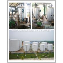 O óleo de cozinha usado de poupança de energia faz a máquina do óleo de biodiesel, linha de produção do biodiesel