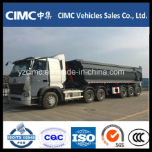 Cimc 3 Axle 30m3 Tipper Dumper Semi-Trailer