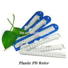 Régua óptica de PD de plástico