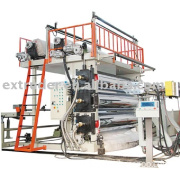 Plastic extruder(PE / PP / PS / HIPS / ABS Single and Multi-Layer Sheet Extrusion Line)
