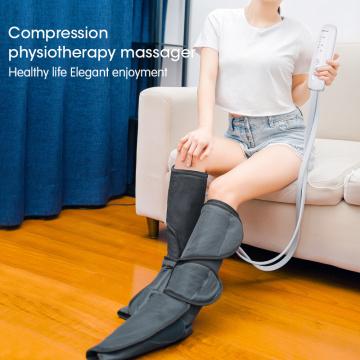 Masseur portatif de pied de jambe de compression d'air avec la chaleur