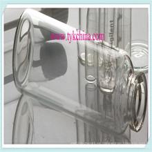 Claro y ámbar inyectable frasco Vial por el tubo de vidrio farmacéutico
