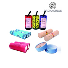 OEM+cosmetic+cardboard+tube+with+powder+shaker