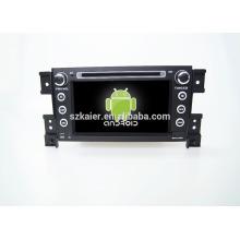 Quad-Core! Auto-DVD mit Spiegel Link / DVR / TPMS / OBD2 für 7-Zoll-Touchscreen-Quad-Core 4.4 Android-System Suzuki Grand Vitara