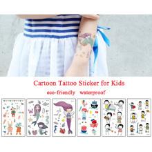 Nouveau design personnalité imperméable enfants autocollants de tatouage de corps