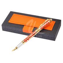 Smooth Escrevendo Fountain Pen Atacado Caneta promocional Metal