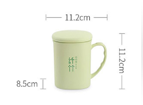 plastic mug with handle