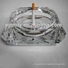 Wholesale haute qualitéc cendrier en verre de cristal