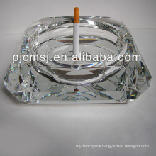 Wholesale high qualityc rystal glass ashtray